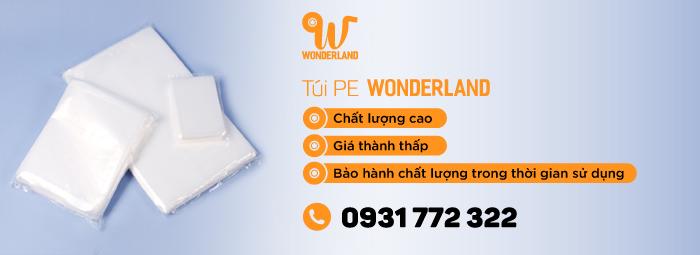 Túi, bao bì Wonderland