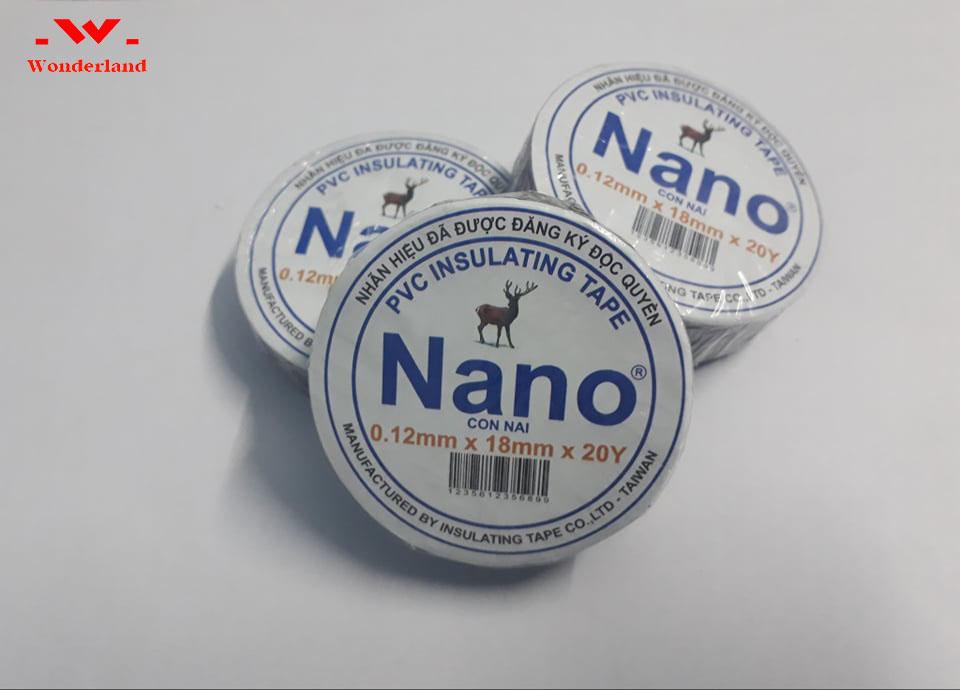 Băng keo điện nano Wonderland