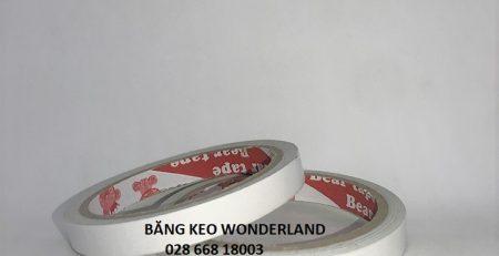 Băng keo hai mặt trắng Wonderland