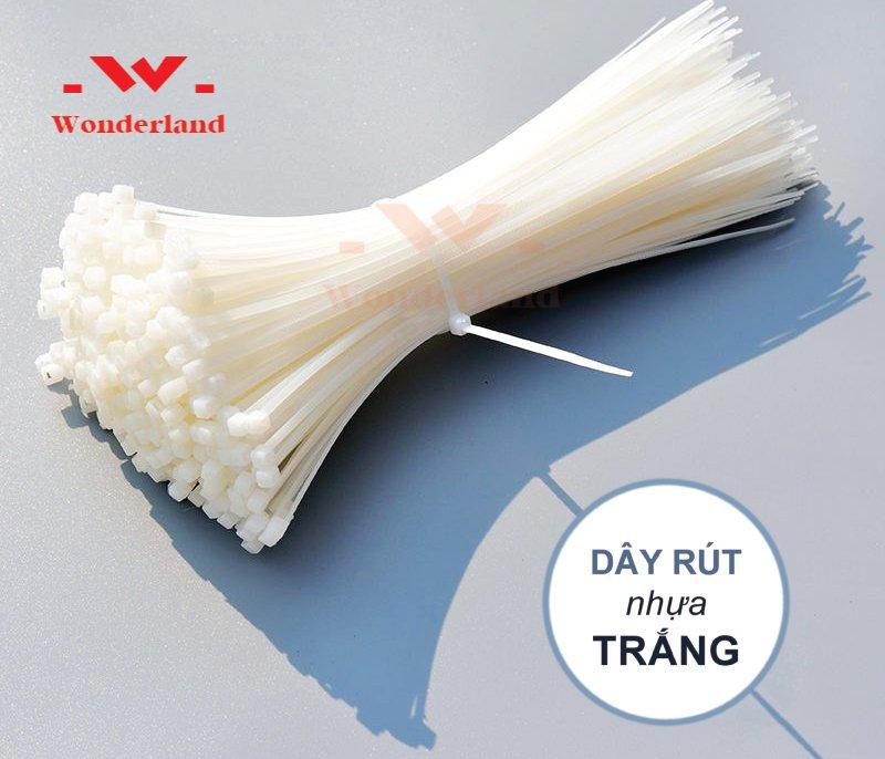 Dây rút nhựa trắng Wonderland